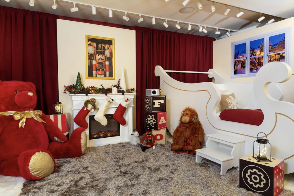 A look inside the FAO Schwarz Airbnb in New York City.