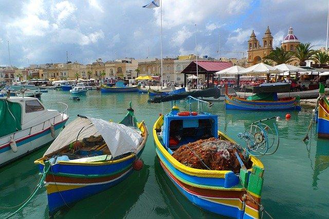 A Maltese harbor