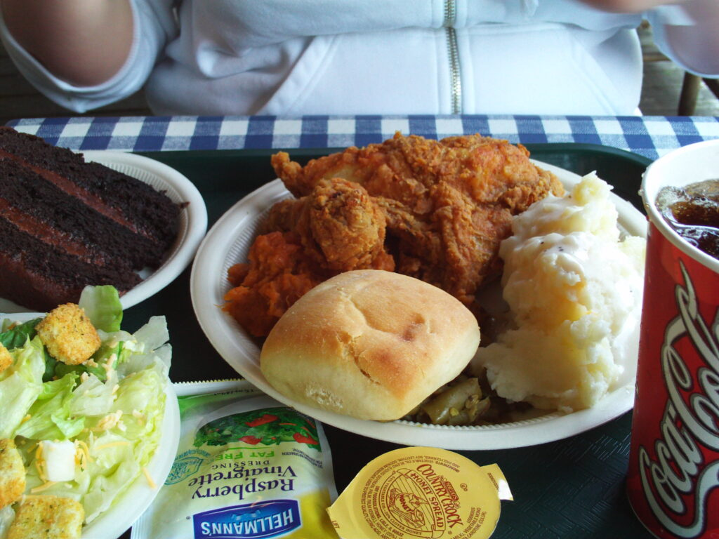 A meal from Dollywood.