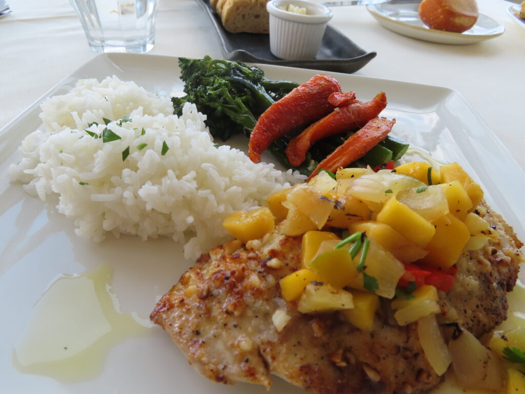 A meal from Scoma's Sausalito.