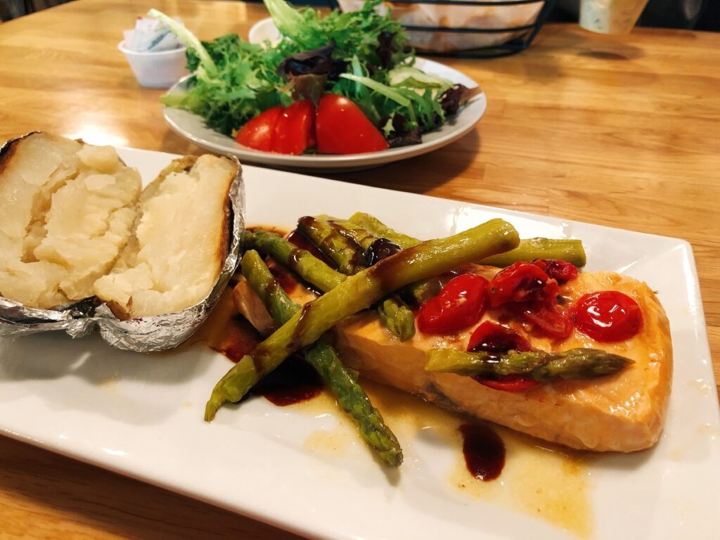 A meal from the Towne and Country Grille/Bakery.