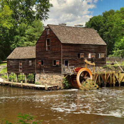 A mill house in Sleepy Hollow, New York.