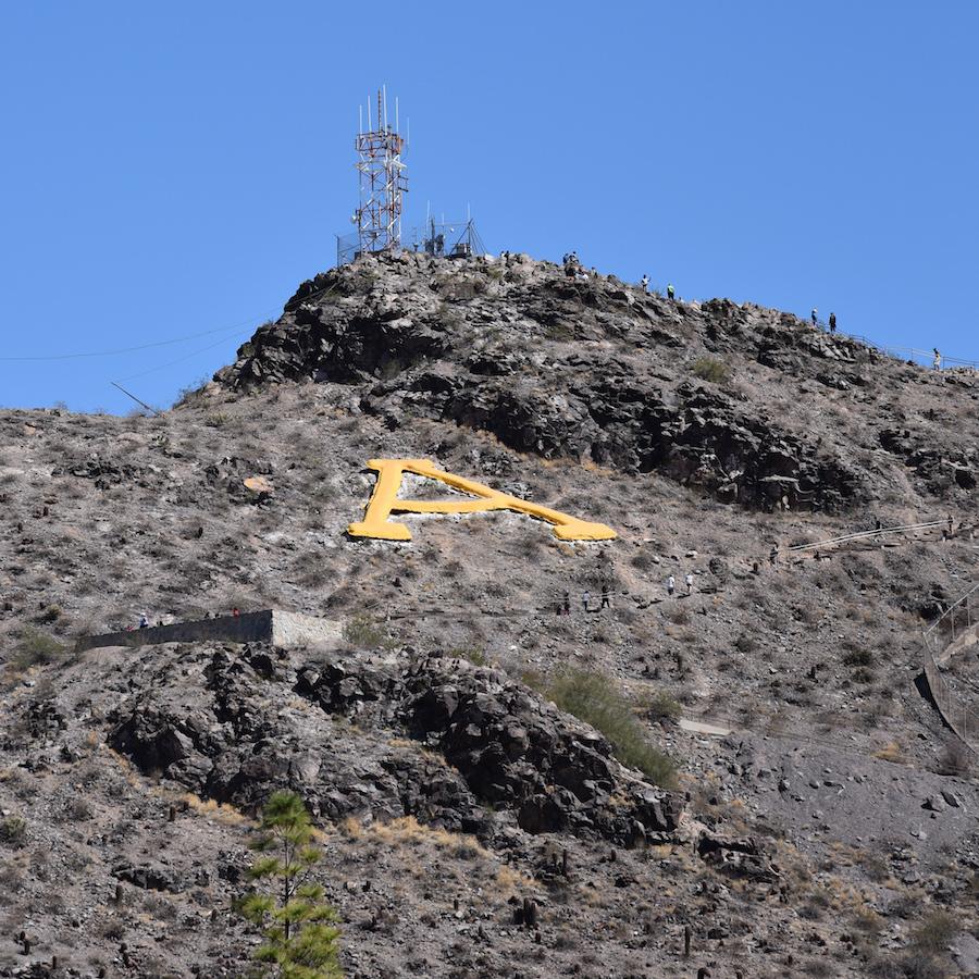 A Mountain in Tempe, Arizona.