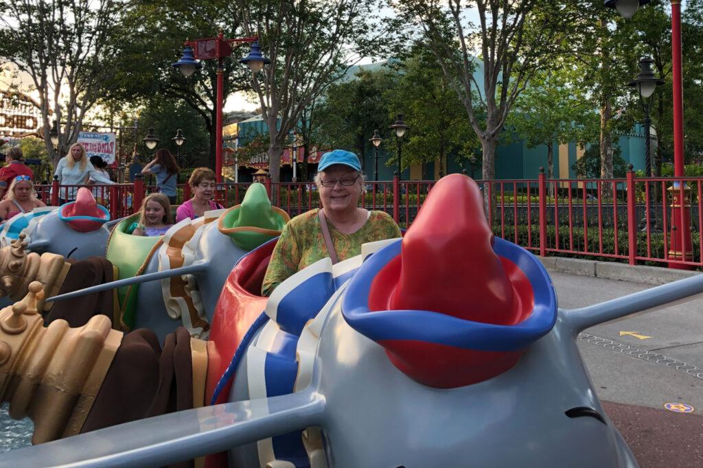 A multigenerational trip to Disney World.