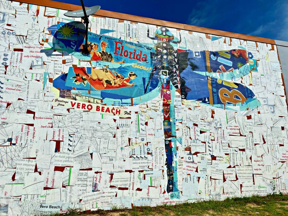 A mural in Vero Beach, Florda.