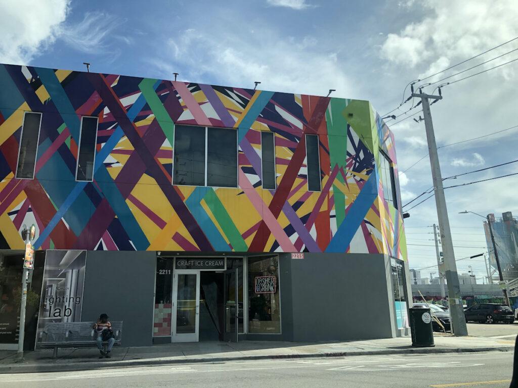 A mural in Wynwood, Florida.