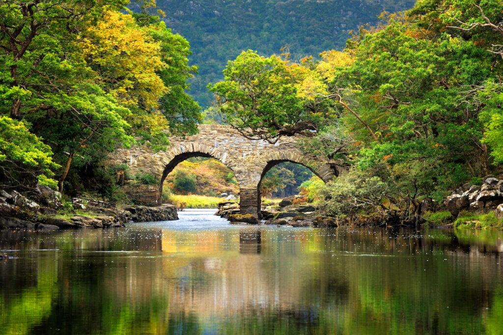 A natural bridge in Killarney National Park.