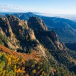A panoramic view of Cibola National Forest.