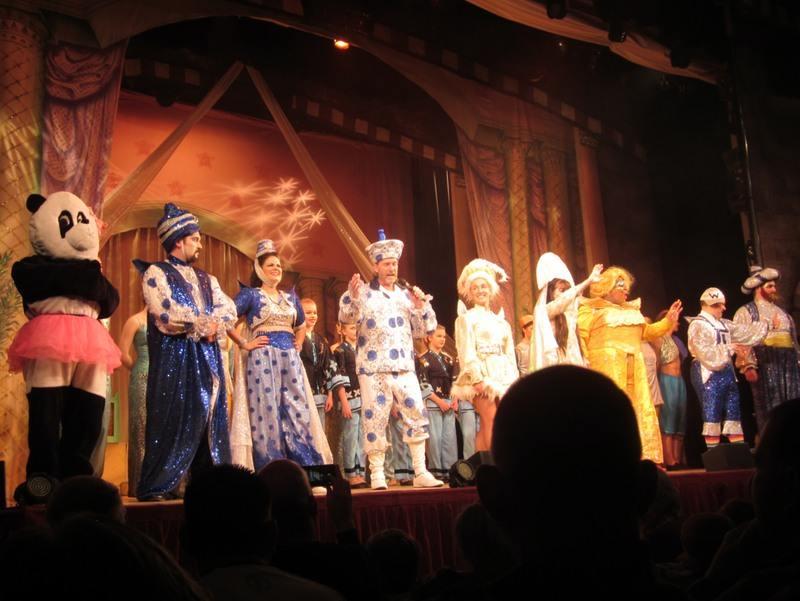A pantomime performance in England.