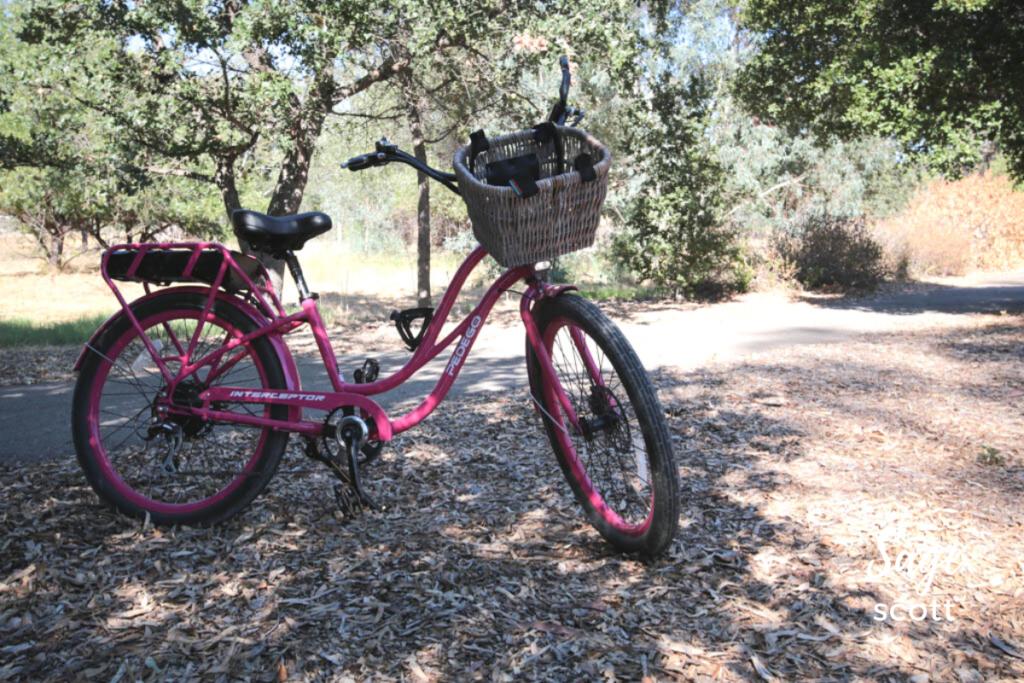 A Pedego electric bike rented in Livermore, California.