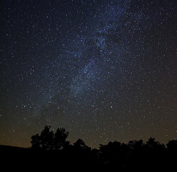 A photo from the Bare Dark Sky Observatory.