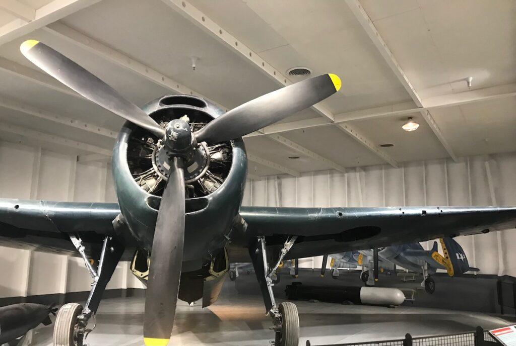 A plane inside TN Flying Machines.