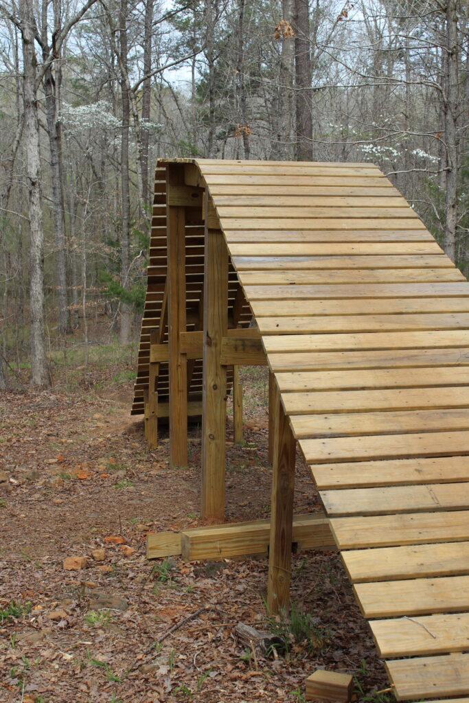 A ramp at Chewacla State Park in Alabama.