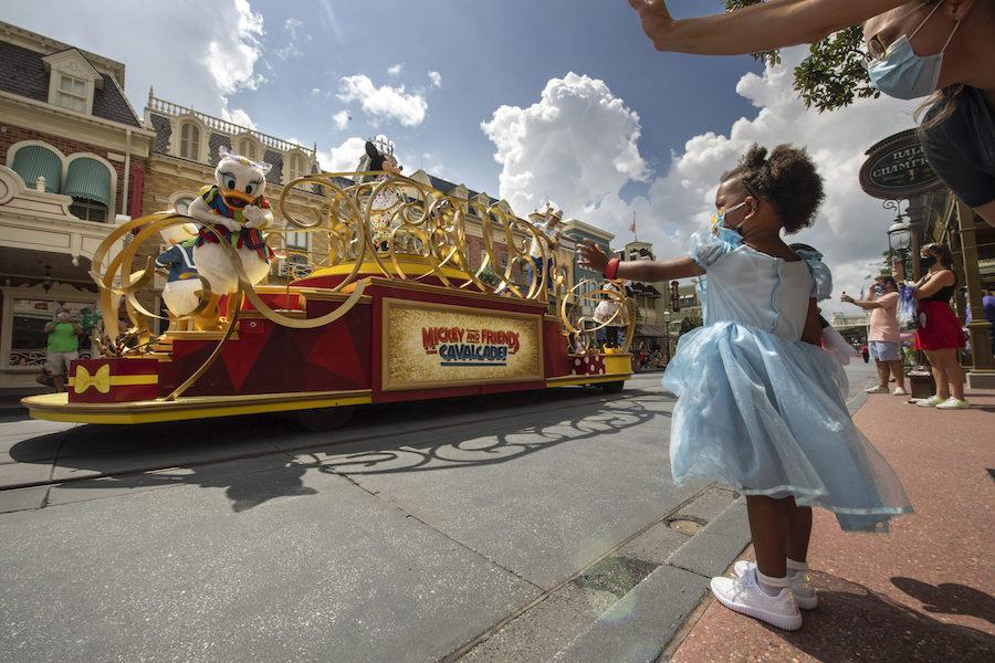 A random parade through Disney World.
