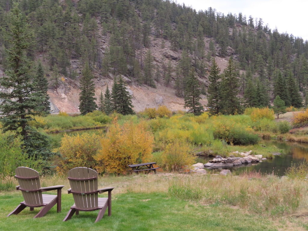 A relaxing location to fly fish.