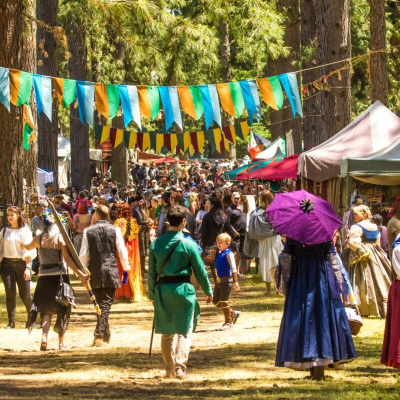 A Renaissance fair in Oregon.