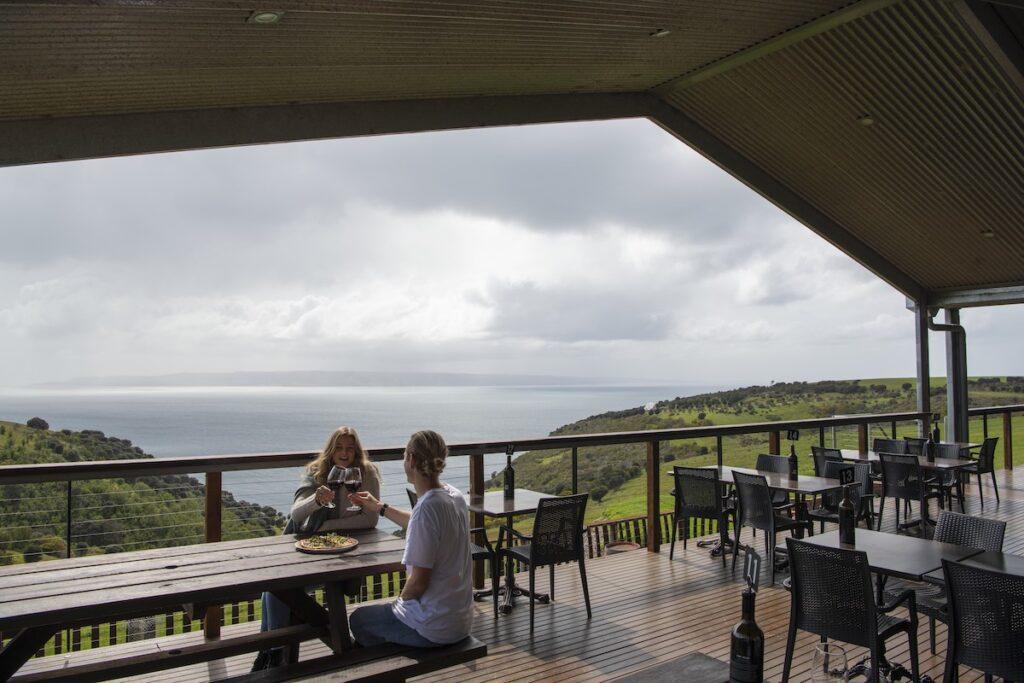 A restaurant on Kangaroo Island.