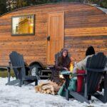 A ROAM Beyond Glamping trip in Montana.