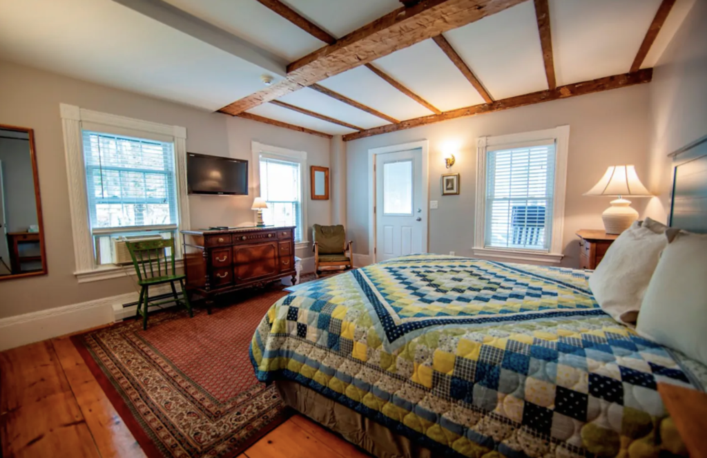 A room at a vacation rental in Ogunquit.