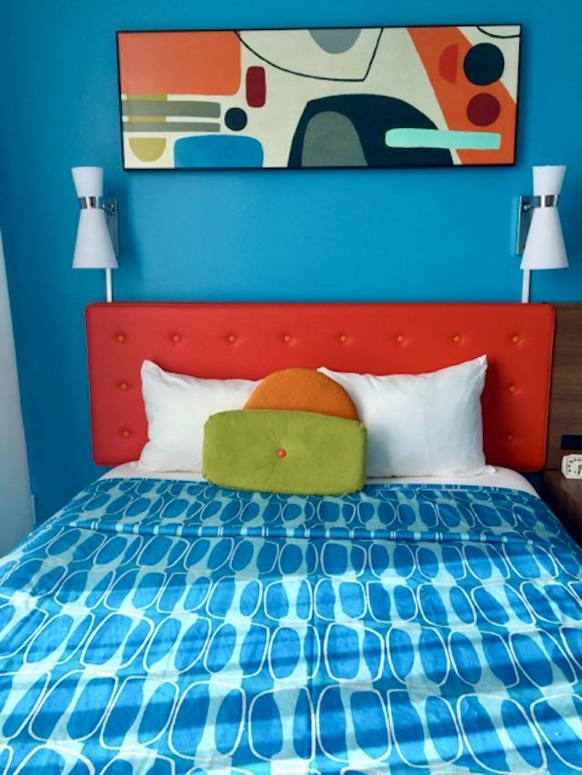 A room at Cabana Bay Beach Resort.