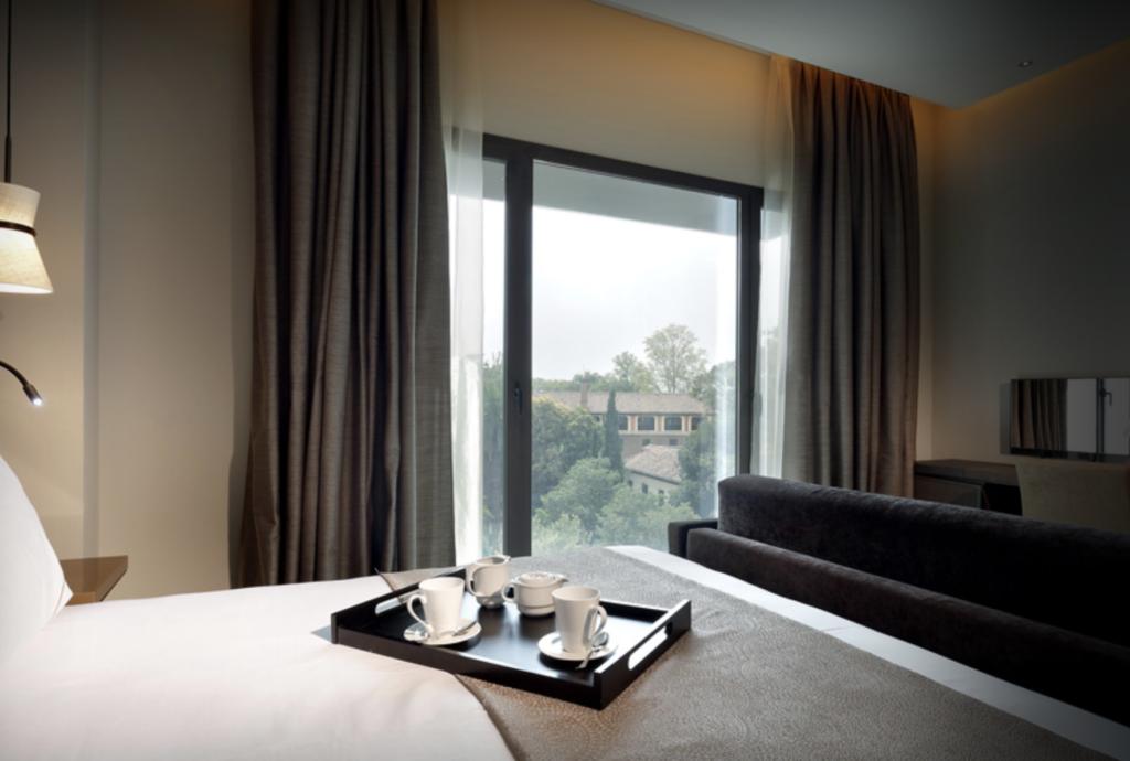 A room at the Eurostars Washington Irving hotel.