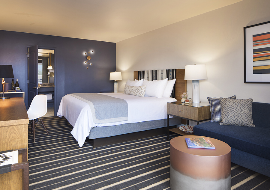 A room at the Sky Rock Inn in Sedona.