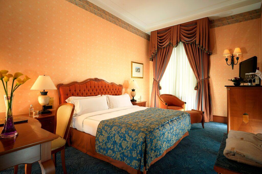 A room at the Sofia Hotel Balkan.