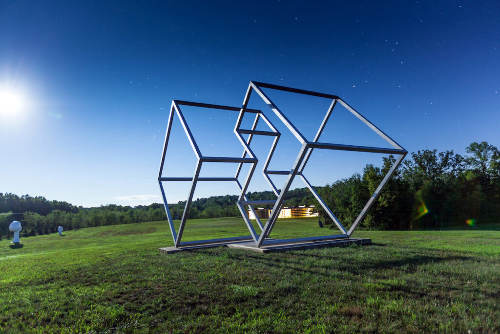 A sculpture at Art Omi Sculpture and Architecture Park.