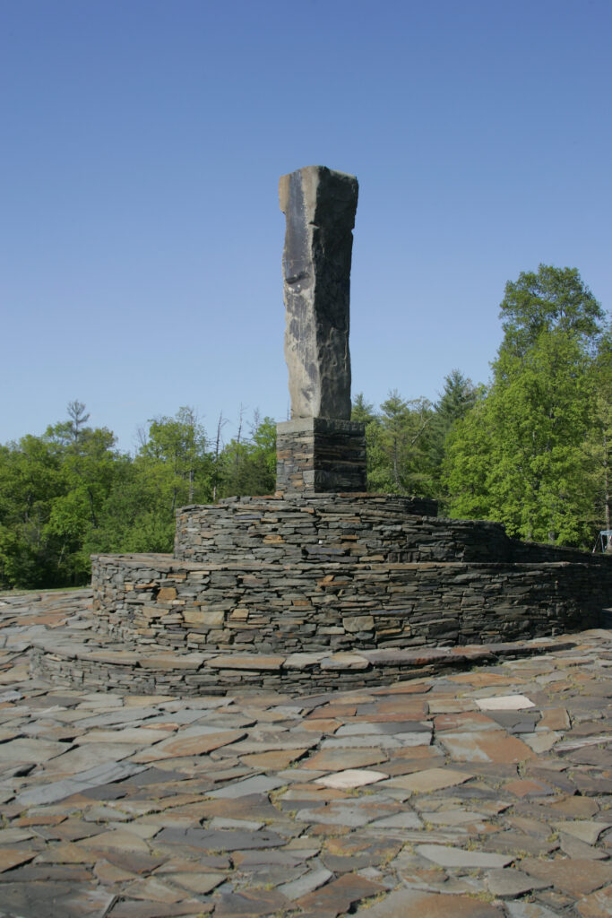 A sculpture at Opus 40 in Saugerties, New York.