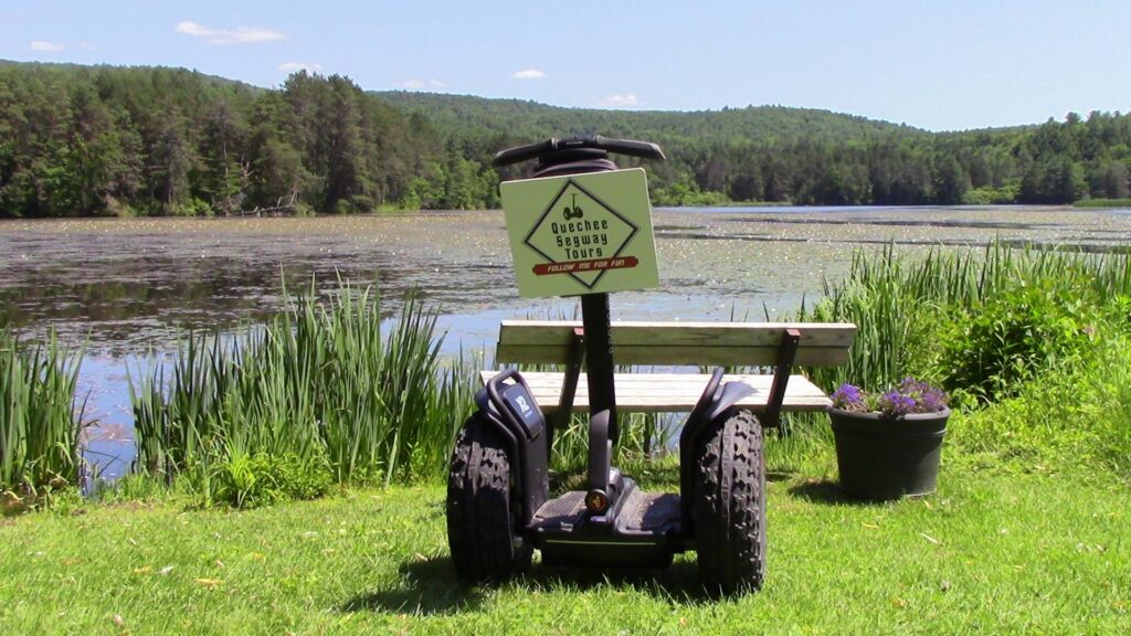 A segway from Quechee Segway Tours.