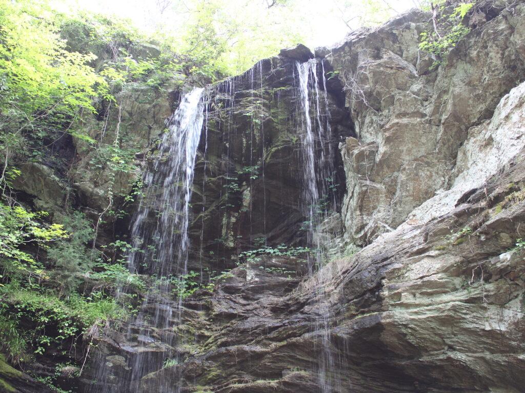 A short, easy hike leads to Hopeful Falls.