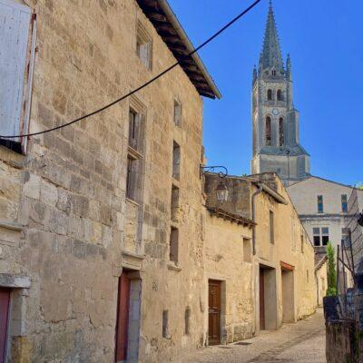 A side street in Saint Emilion.
