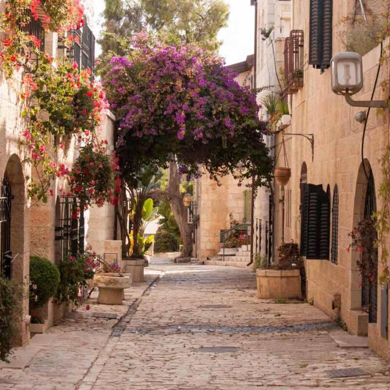 A small village in Jerusalem.