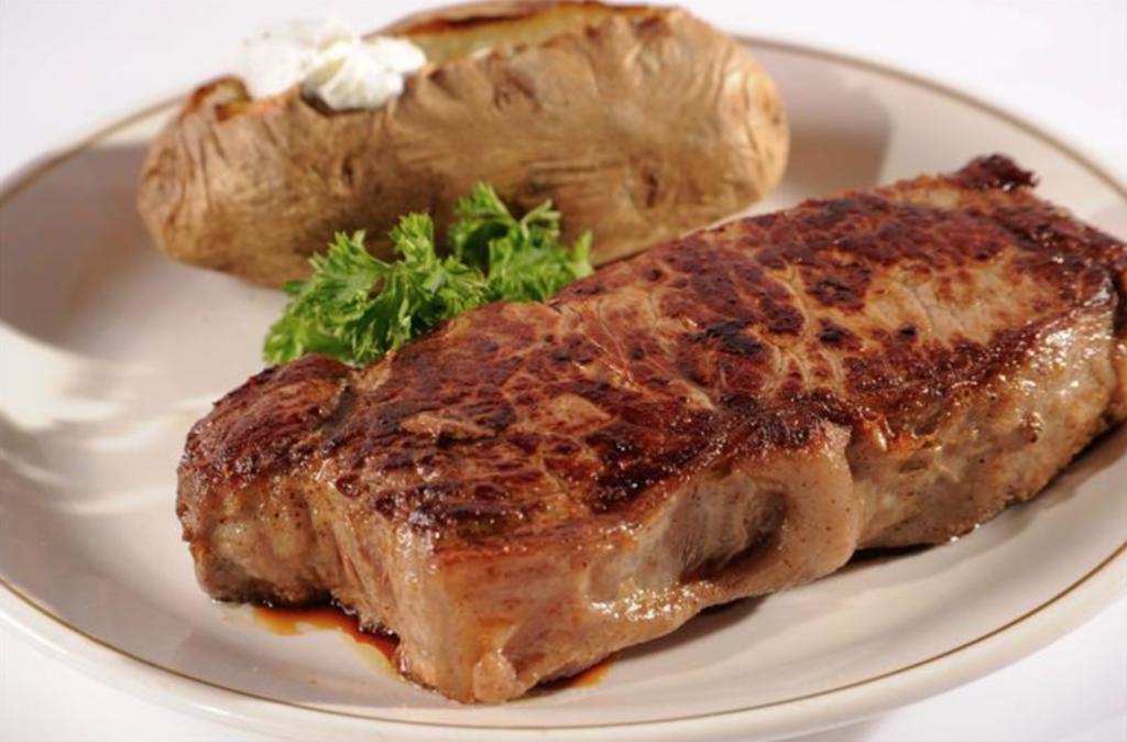 A steak from Cascio's Steakhouse.