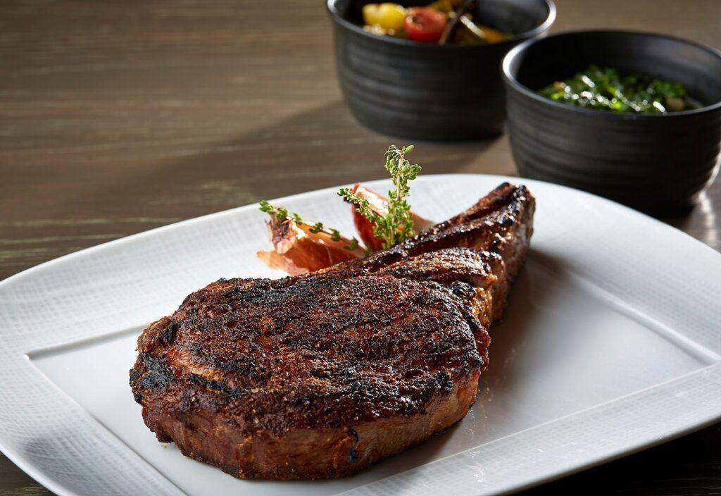 A steak from Knife in Dallas.
