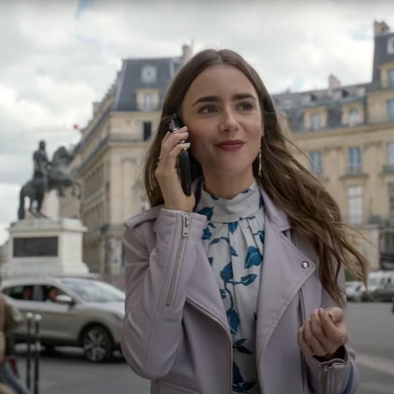 A still shot from Emily In Paris, a show on Netflix.