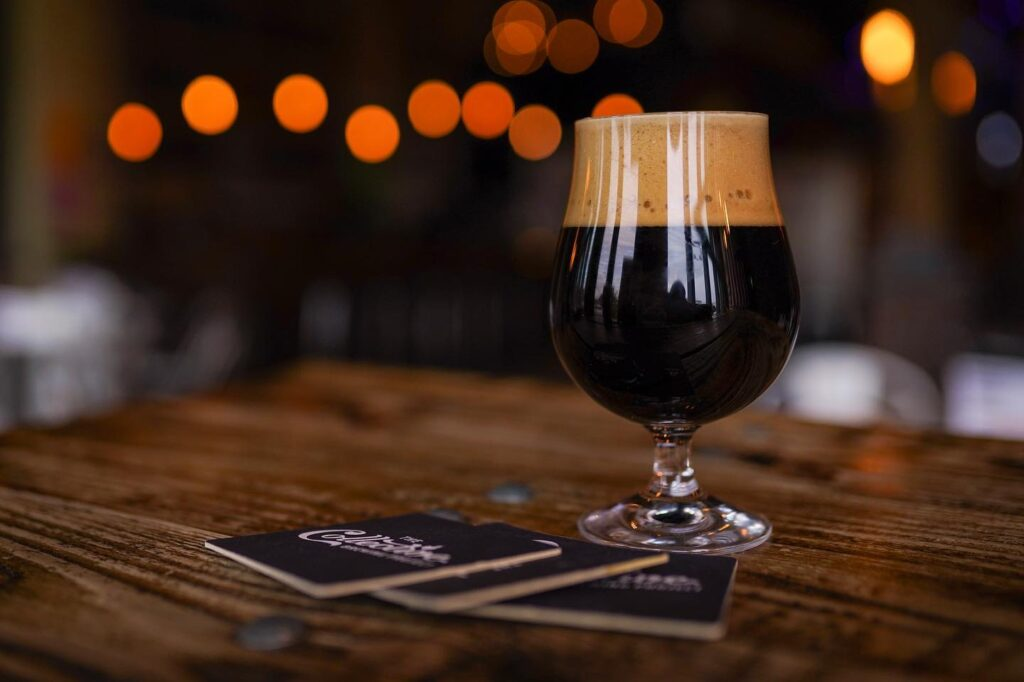 A stout from Fort Worth's Collective Brewing Project.
