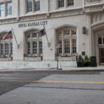 A street view of Hotel Kansas City.