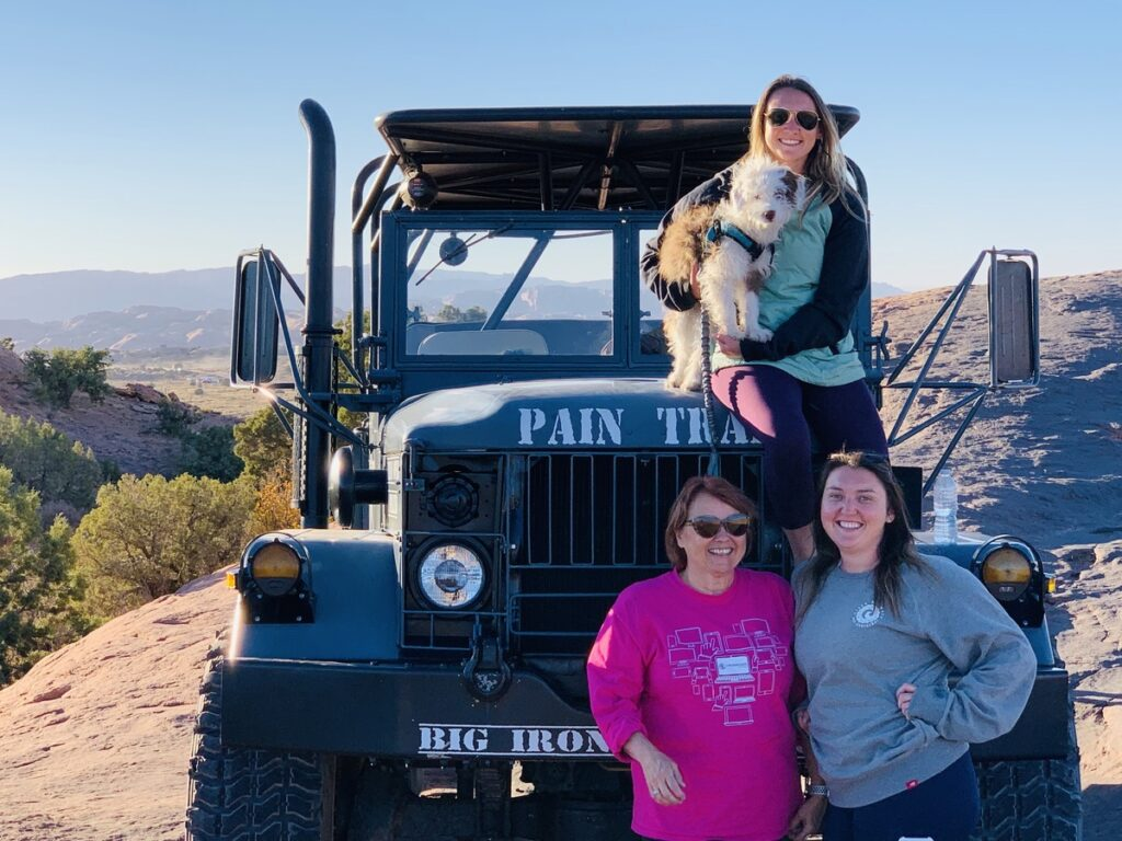 A sunset tour via Big Iron Tours in Moab, Utah.