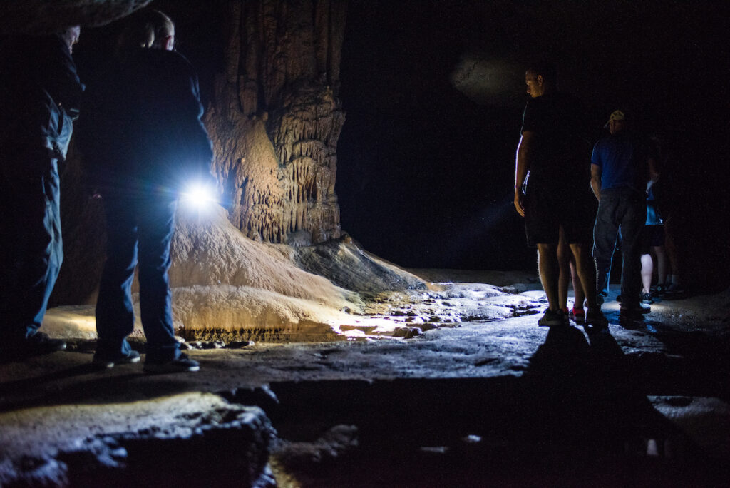 A tour of Dunbar Cave in Clarksville, Tennessee.