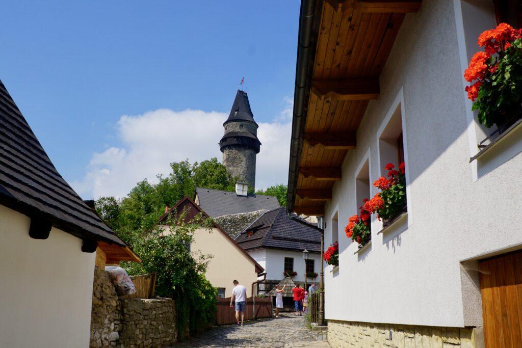 A tower in Stramberk.