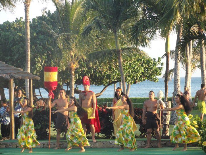A traditional Hawaiian Luau at Paradise Cove.