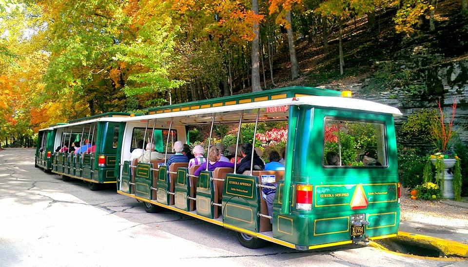 A Tram Tour of Eureka Springs.