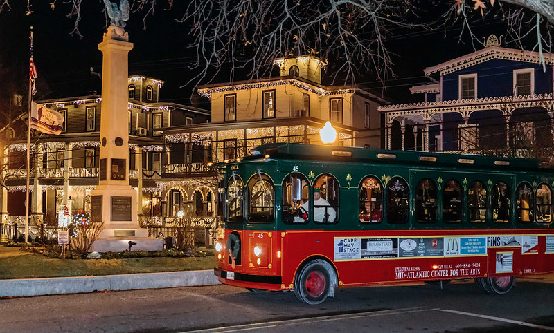 A trolley tour of Cape May via the Cape May MAC.