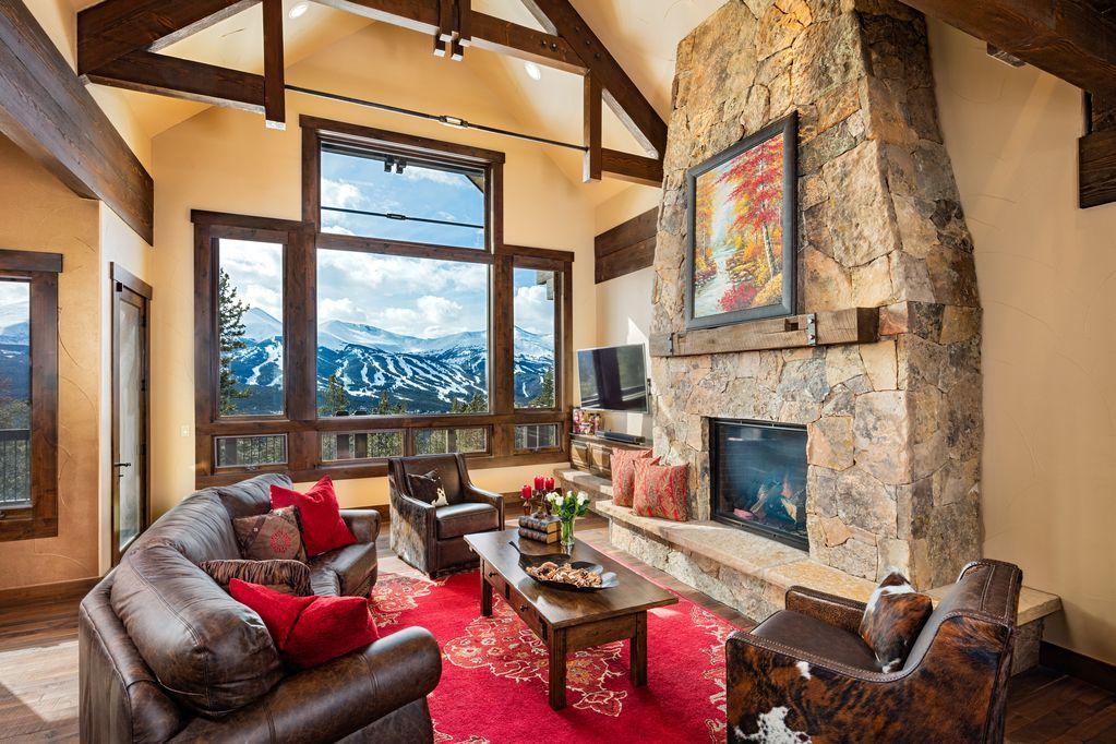 A vacation home in Breckenridge, Colorado.