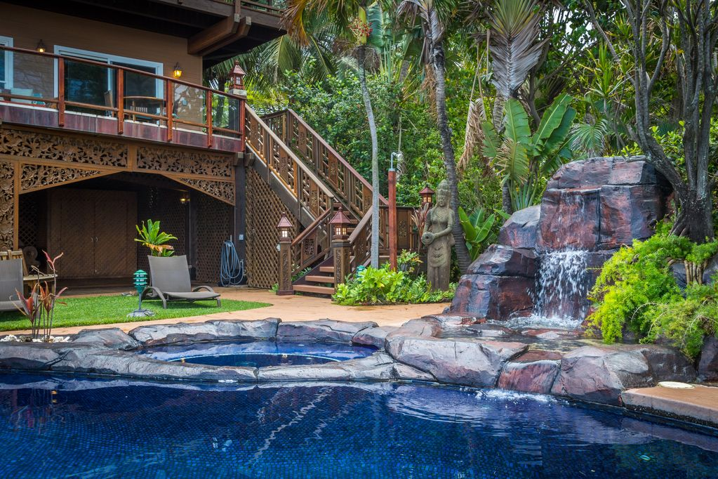 A vacation home in Maui, Hawaii.