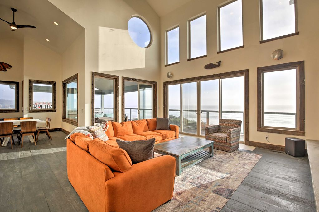 A vacation home in Newport, Oregon.