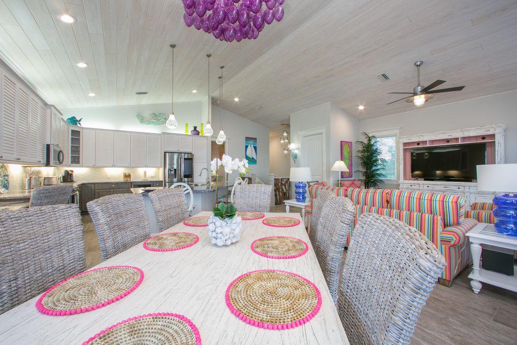 A vacation home in Sarasota, Florida.