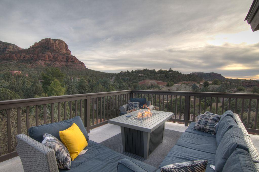 A vacation home in Sedona, Arizona.