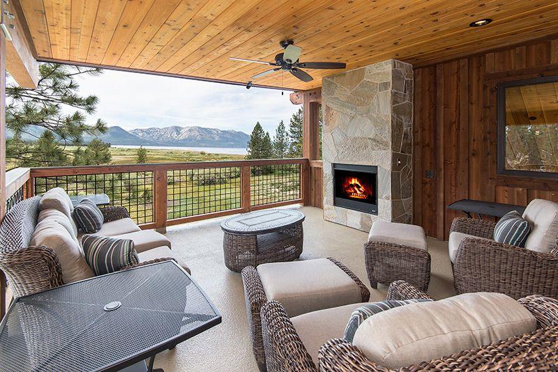 A vacation home near Lake Tahoe.
